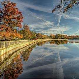 Roosevelt Park in Edison New Jersey by Geraldine Scull