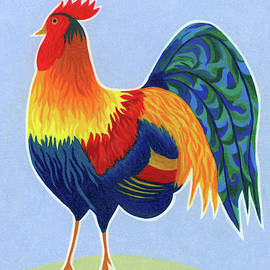 Rooster 2 by Mary Walchuk