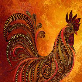 Rooster Sunshine by Jennifer Stackpole