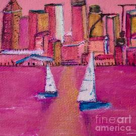 Rose Colored City by Kim Nelson