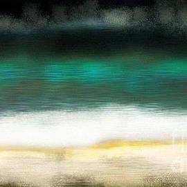 Rosebud beach night by Julie Grimshaw