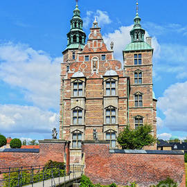 Rosenborg Castle and Moat by Catherine Sherman