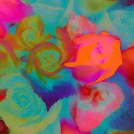 Roses Beautiful Rainbow Assortment by Catherine Lott