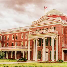 Rotunda Building Longwood University In Farmville Virginia by Ola Allen