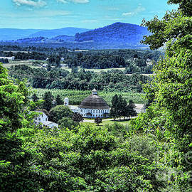 Round Barn Landscape by Photography by Laura Lee