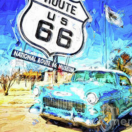 Route 66 Roadtrip by Jack Torcello