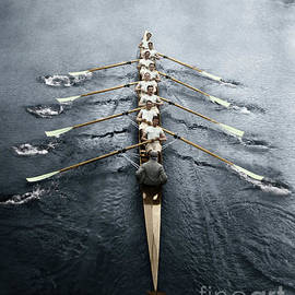 Rowing Team by Granger