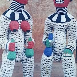 Royal couple by Bakongo collection