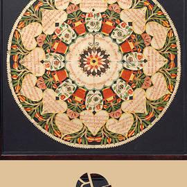 Rubino Mandala Design Pattern Purple by Tony Rubino