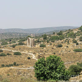 Ruins Of The Church Of Saint Anne Can Be Seen From The Tel Mares by William Kuta