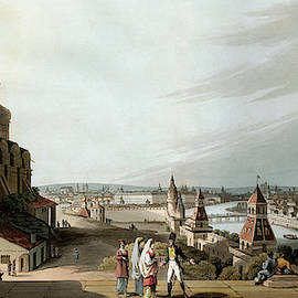 Russia Moscow, 1815 by Granger