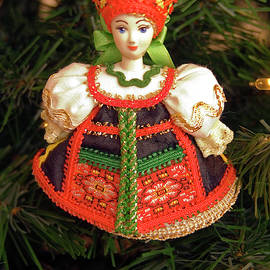 Russian Doll Ornament by Sally Weigand