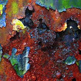 Rust And Paint Can Make Art by Paul W Faust - Impressions of Light
