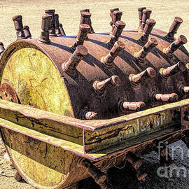 Rusty Agricultural Equipment 2 by Elisabeth Lucas