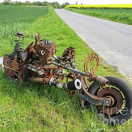 Rusty Bike Sculpture