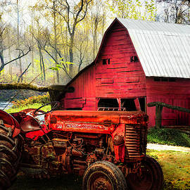 Rusty Red at The Farm by Debra and Dave Vanderlaan