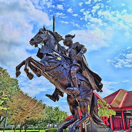 Rutgers Victory Statue # 3 by Allen Beatty