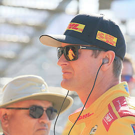 Ryan Hunter-Reay by Shoal Hollingsworth