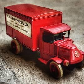 S. Falbo Cheese Toy Truck by Pamela Falbo