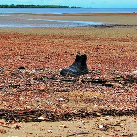 Safety Boot Beach by Joan Stratton