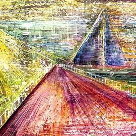 Sailboat Coast by Patty Donoghue