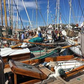 Sailboats and Rigging by Jerry Abbott