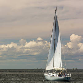 Sailing On Green Bay by John Bartelt