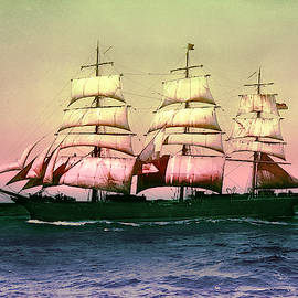 Sailing Ship Balclutha  by Robert G Kernodle