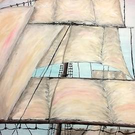 Sailing Ship by Irving Starr