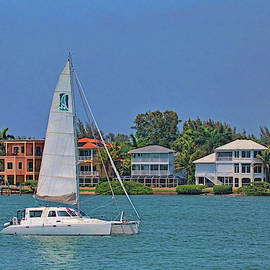 Sailing The Intracoastal by HH Photography of Florida