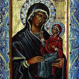Saint Anne and virgin Mary by Natalia Lvova
