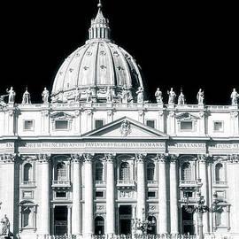 Saint Peter's Basilica Vatican City by John Rizzuto