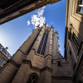 Sainte Chapelle Sky by Morey Gers