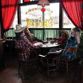 Saloon 1880 Town South Dakota by Gerlinde Keating - Galleria GK Keating Associates Inc