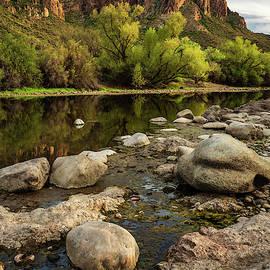 Salt River Boulders by Rick Strobaugh
