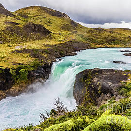 Salto Grande, Torres Del Paine, Chile by Lyl Dil Creations