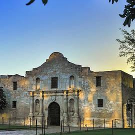 San Antonio Alamo Sunrise Morning by Gregory Ballos