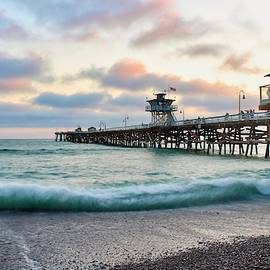 Brian Eberly - A San Clemente Pier Evening