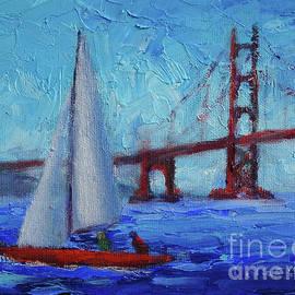 San Francisco Bay Breeze by Carolyn Jarvis