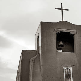 San Miguel Mission Chapel - Santa Fe New Mexico In Classic Sepia by Gregory Ballos
