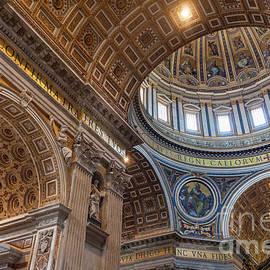 San Pietro Ceiling by Brian Jannsen