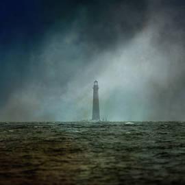 Sand Island Lighthouse Dauphin Island Alabama by Jai Johnson