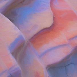 Sandstone Cracks by Patti Schulze