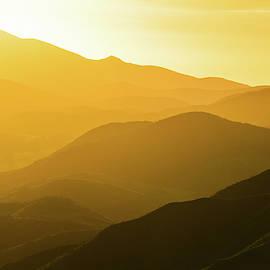 Santa Monica Mountains Satwiwa Sunset by Kyle Hanson