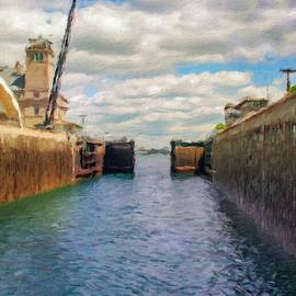 Sault Locks are open by Ken Desloover