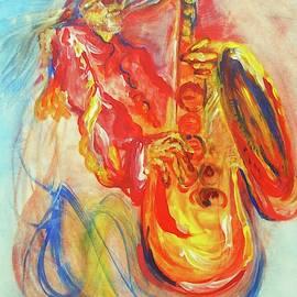 Sax Man by Debora Lewis