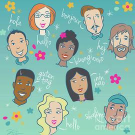 Say Hello People by Shari Warren