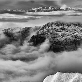 Scafell Massif From Bowfell by Mark Hunter