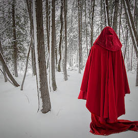Scarlet Cloak 3 by Tim Beebe