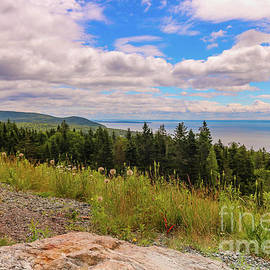 Scenic view of Fundy Bay by Claudia M Photography